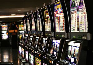 Multiplayer slot gambling