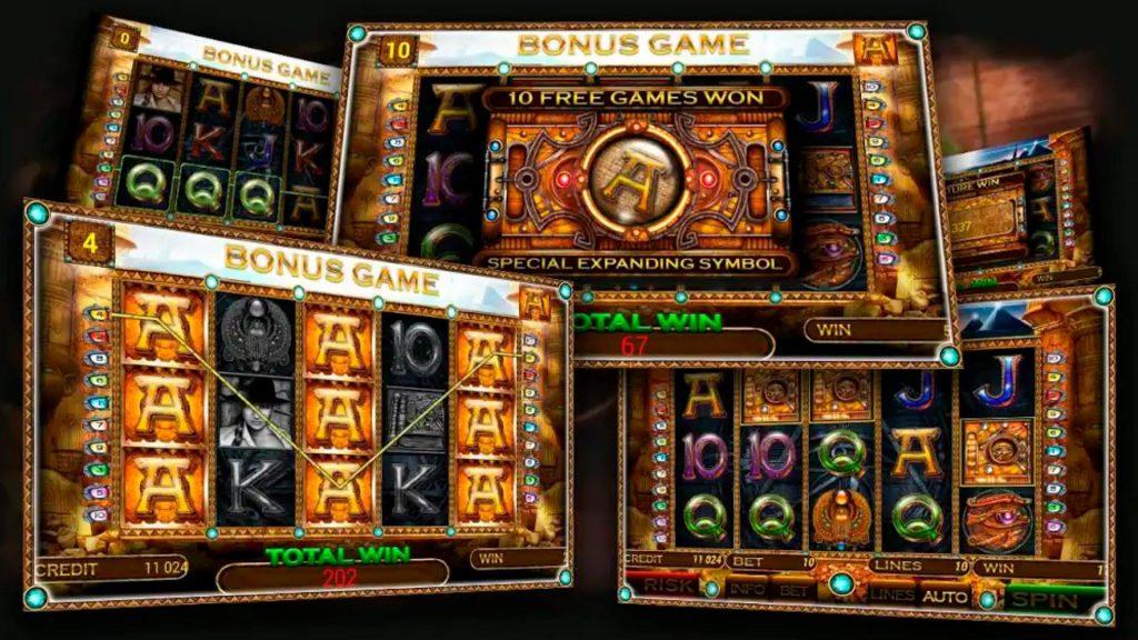 Slot Machine in Online
